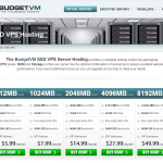 BudgetVM - New SSD offers starting from 5.99/mo - See more offers