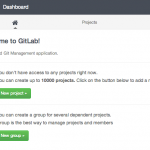 How To Use the GitLab One-Click Install Image to Manage Git Repositories