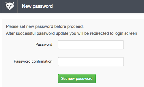 DigitalOcean GitLab new password