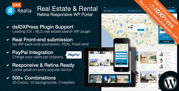 The Top 10 Best Real Estate WordPress Themes - VPSMATEVPSMATE