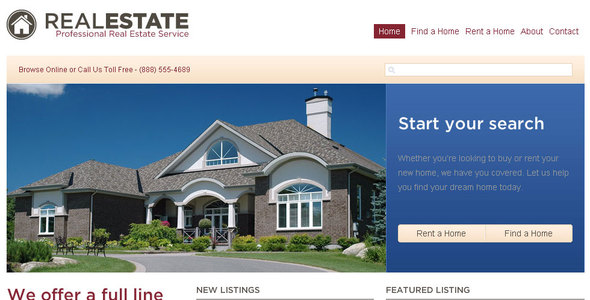 WP Pro Real Estate - Business Corporate