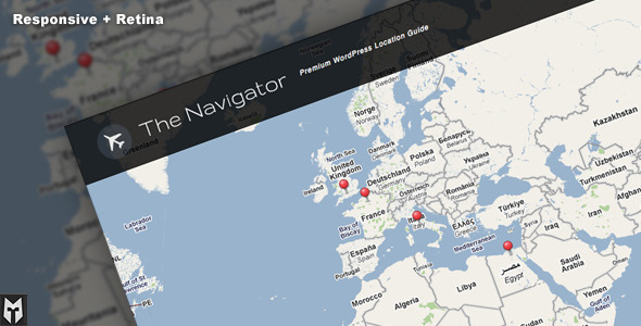 The Navigator: Premium WP Location Guide + Blog - Miscellaneous WordPress