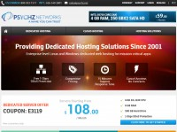 PSYCHZ Dedicated Server - 99$ / E3-1230v2 / 16g Ram / Samsung 840 Pro 256G SSD / 100m Unmetered