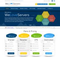 WeLoveServers NEW Website Design Launch! See The Cheapest VPS Deal Yet.