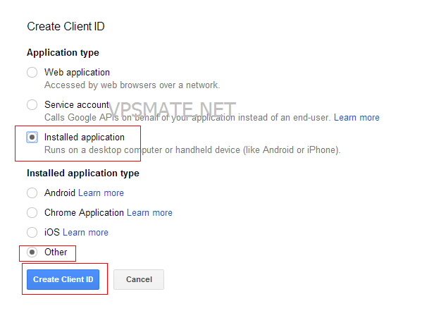 google_project_create_client_ID