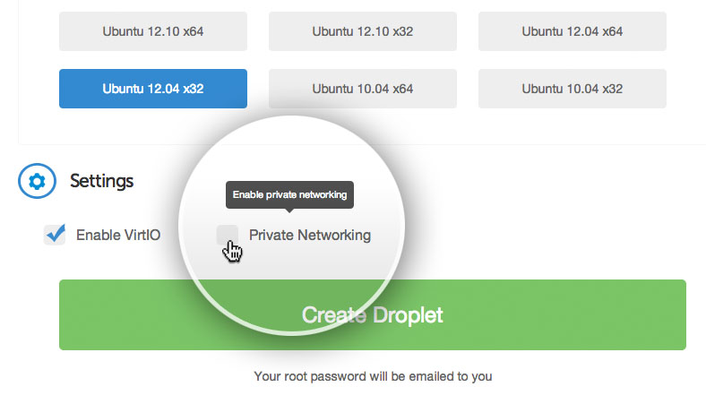 private networking
