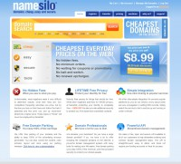 Namesilo - New Domain $7.99/yr - Free Whois Privacy Protection