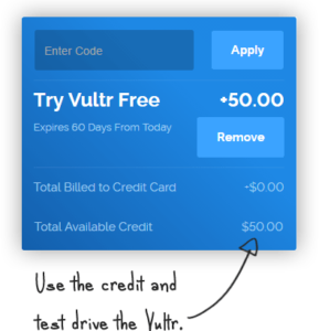 $50 credit for test drive